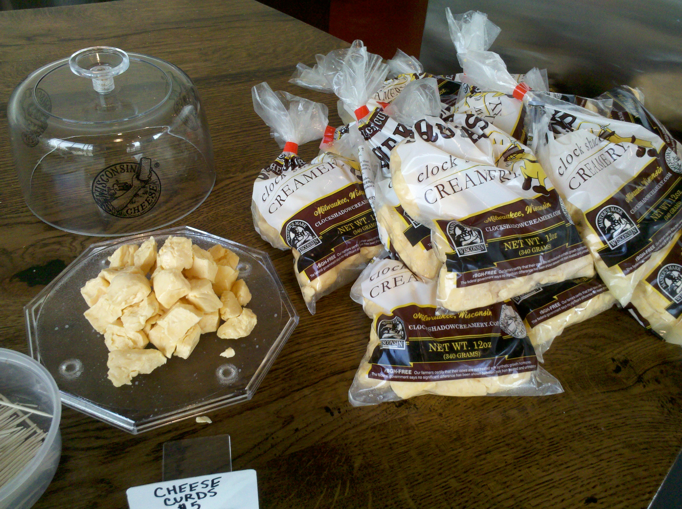 Fresh Wisconsin Cheese Curds