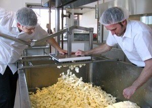 Cheese Factory Tour at Clock Shadow Creamery