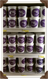 Purple Door Ice Cream Pints In The Cooler